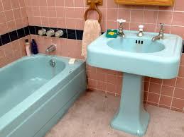 can i paint bathroom tile. CI-Miracle-Method_bathroom-sink-before_h Can I Paint Bathroom Tile A