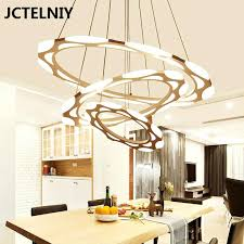 modern chandelier lamps luxury modern chandelier led circle ring chandelier light for living room acrylic re