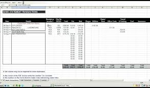 Simple P L Excel Template Free Pl Template Excel Jasonwang Co