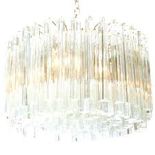 inch smoked glass crystal prism chandelier light round prisms parts rhys clear rectangular luxury nine p