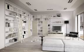 ... Modern Built In Bookcases ...