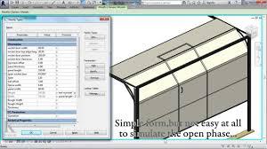 Decorating wicket door images : Advanced Sectional Garage Door with WiCKET Door (Revit family ...