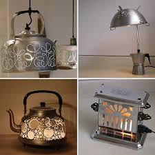 into lighting. Garbage Lamps: From Trash To Treasure | Kitchens, Lights And Metal Furniture Into Lighting