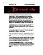 dracula adapted by david calcutt from the novel by bram stoker  dracula how does bram stoker create an atmosphere of fear and horror