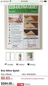 eco ultra quiet premium acoustical underlayment. Plain Premium Eco Ultra Quiet Premium Underlayment For Sale In Fort Lauderdale FL   OfferUp And Ultra Quiet Premium Acoustical Underlayment E