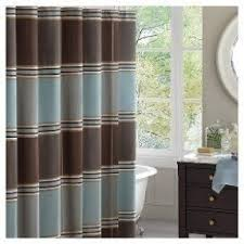 gray and brown shower curtain. blue \u0026 brown shower curtain gray and i