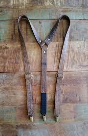 genuine leather suspender groomsmen brown leather suspender groomsmen suspender brown suspender groomsmen gift wedding suspender