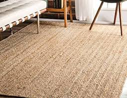 best choice of jute area rugs 8x10 at com nuloom natural hand woven rigo rug 8 x