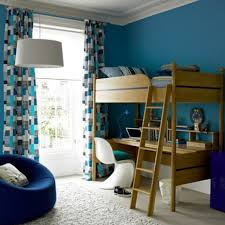 furniture for young adults. Outstanding Bedroom Decor Ideas For Young Adults Men With Blue Wall Paint Color And Computer Desk Furniture O
