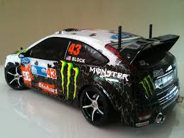 Rc Drift Hobbyking Mission D Ford Focus Rs Wrc Ken Block Monster