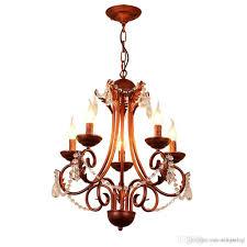american classical iron crystal pendant lights k9 crystal chandelier lighting fixtures purple bronze chandeliers home decor 5 6 8 heads chandelier lift