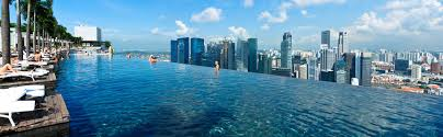 Infinity Pool Mbs Bay Sands Hotel With View Of Inside Innovation Ideas