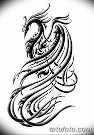 эскизы тату феникса для девушек 08032019 026 Tattoo Sketches