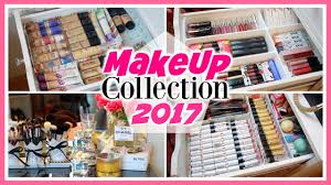 my makeup collection storage 2017