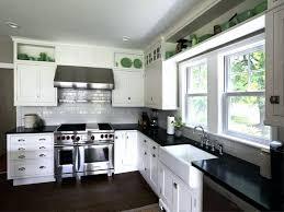 40 New Collection Kitchen Backsplash Ideas White Cabinets Black Interesting White Cabinets And Backsplash Collection