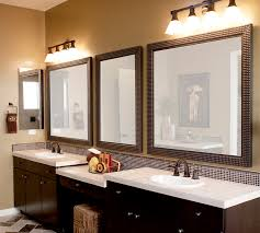 long bathroom mirrors. Stunning Custom Bathroom Mirror Frames Enhancing Personalized Room Theme : Calm Color For Long Mirrors L