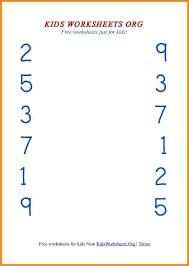 9+ number matching worksheets | media resumed
