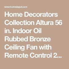 home decorators collection altura 56 in indoor oil rubbed bronze