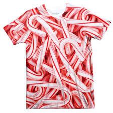 Candy Cane Invasion T Shirt Shelfies