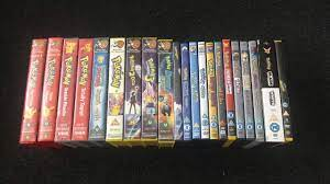 My Pokemon UK VHS & DVD collection [Summer 2020 Edition] - YouTube