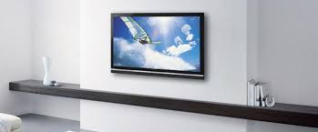wall or ceiling mount flatscreen tv