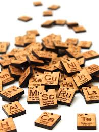 Timber Green Woods Custom Chemistry Element Keychain - NoveltyStreet