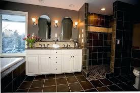 regrouting bathroom tiles bathroom tile high contrast tile and dramatic bathroom look ing bathroom floor tiles regrouting bathroom tiles