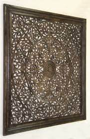 sh15753 carved wooden wall panel