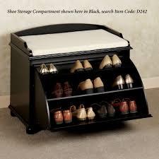 furniture shoe storage. aubrie shoe storage bench classic cherry furniture