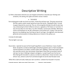 descriptive person essay are narrative essays written in first person narrative