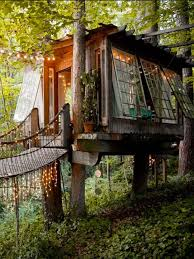 Treehouse In China By David Greenbverg David Greenberg Is An Treehouse Lake District