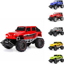 new bright 1 8 radio control full function 9 6v 4 door jeep blue red gray open back 4 door jeep red yellow green walmart