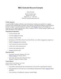 Mba Graduate Resume Sample Download Sample Resume For Mba Graduate DiplomaticRegatta 11