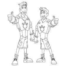 Small Picture Wild Kratts Coloring Pages Free Printable Wild kratts