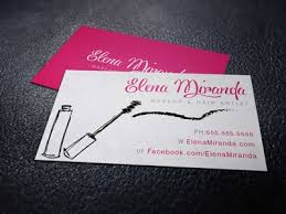 makeup business cards designs custom business card design