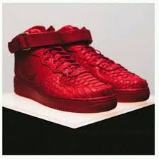 shoes red red shoes snake skin snake skin print sneakers snake leather