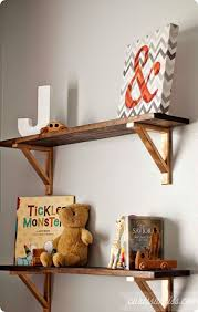 diy rustic shelf brackets diy do it your self