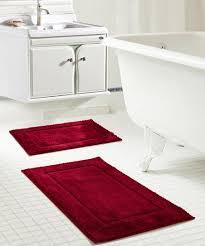 burdy microfiber bath rug set