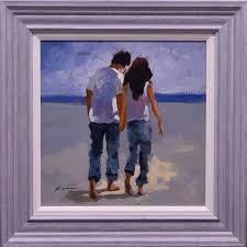 Frances Together - Original Painting - Diane Hutt Gallery