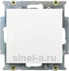 1012-0-2139 <b>Выключатель одноклавишный ABB Basic 55</b> (белый ...