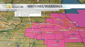 SEVERE THUNDERSTORM WATCH for Lee and ...