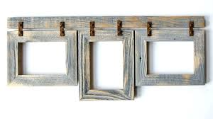 rustic collage frame image 0 rustic wood collage photo frames
