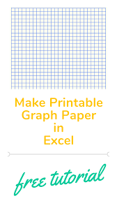 Excel Tutorial On How To Make Graph Paper In Excel Well