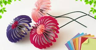 Paper Flower Craft Ideas Diy Home Decor Gifts And Crafts Ideas Easy Step By Step