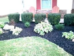 black lava rock landscaping pros and cons mulch rocks fire pit with river