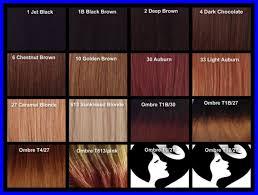 Shades Of Brown Hair Color Chart Colors Inspiring Caramel
