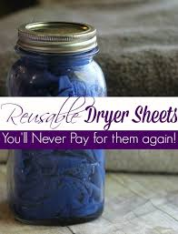 looking for a great way to cut your laundry costs these diy reusable dryer sheets