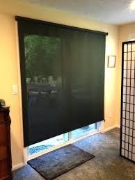 shade for glass door sliding glass door sun shade blackout shade sliding glass door roman shade