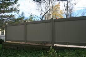 two tone vinyl privacy fence. Unique Privacy And Two Tone Vinyl Privacy Fence