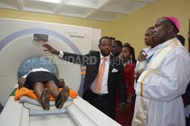 bishop machine works karira mission hospital gets scanning machine kenya the standard